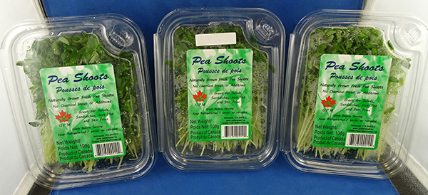 Updated Food Recall Warning    GPM brand Pea Shoots recalled due to Listeria monocytogenes