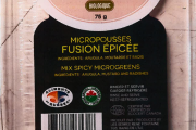 Food Recall Warning - Pousses et Cie brand Mix Spicy Microgreens recalled due to Listeria monocytogenes