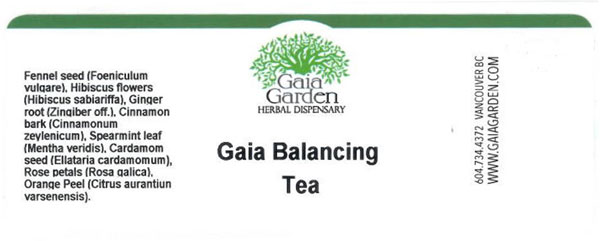 CFIA/ACIA Food Recall Warning - Gaia Garden Herbal Dispensary brand Gaia Balancing Tea recalled due to Salmonella