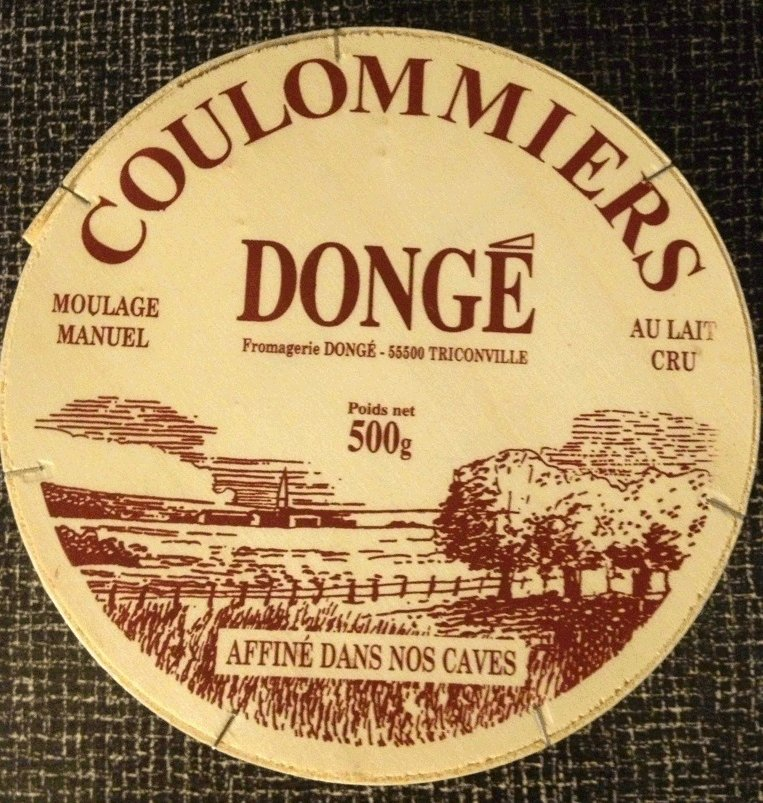 Food Recall Warning - Dongé brand Coulommiers raw milk cheese recalled due to Listeria monocytogenes