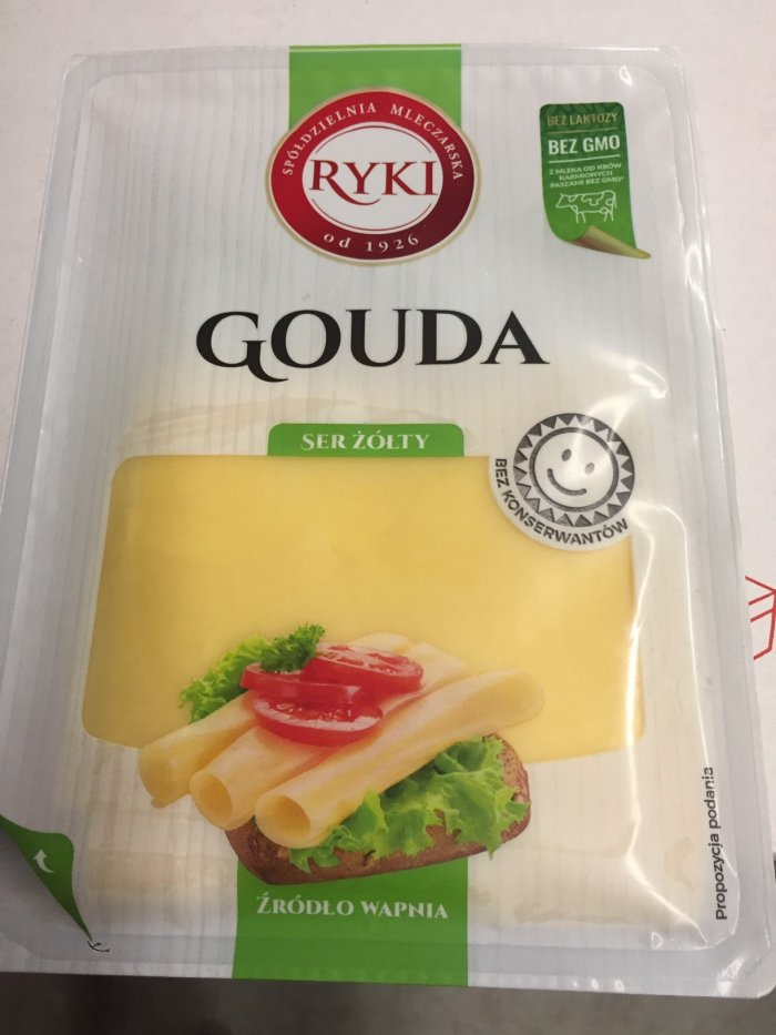 CFIA/ACIA Food Recall Warning - Ryki brand Gouda Cheese Slices recalled due to Listeria monocytogenes