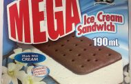 Food Recall Warning  -   Iceberg brand and Originale Augustin brand ice cream sandwiches recalled due to possible presence of fine metal particles