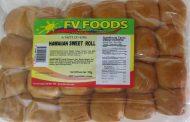 CFIA/ACIA Food Recall Warning (Allergen) - FV Foods brand Hawaiian Sweet Roll recalled due to undeclared egg