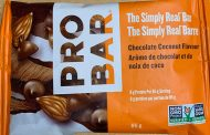 CFIA/ACIA Food Recall Warning (Allergen) - Probar brand The Simply Real Bar – Chocolate Coconut Flavour recalled due to undeclared milk and soy