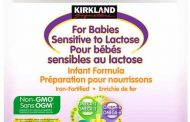Updated Food Recall Warning - Kirkland Signature brand Non-GMO Infant Formula for Babies Sensitive to Lactose recalled due to Cronobacter spp.