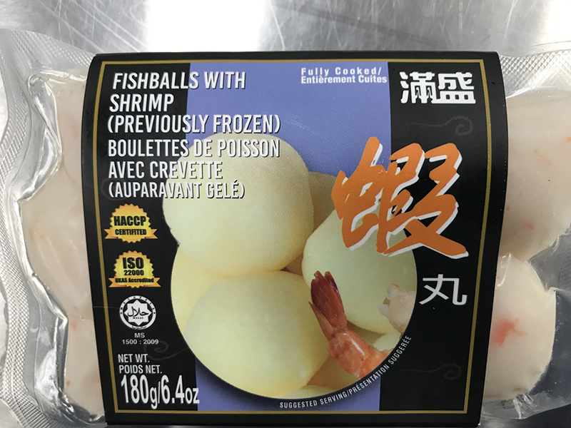 Food Recall Warning - MF Inc. brand fishballs recalled due to potential presence of dangerous bacteria