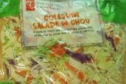 President's Choice brand Coleslaw recalled due to Salmonella