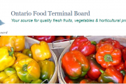 Message from Ontario Food Terminal Board