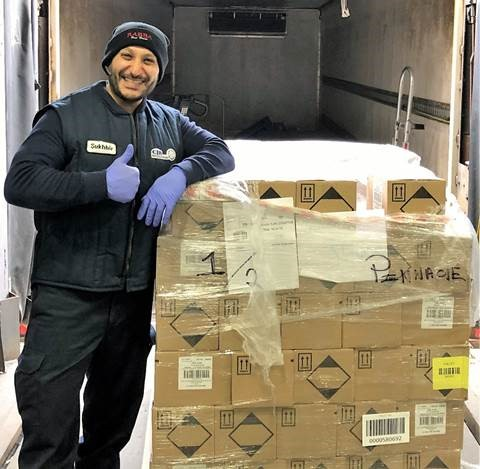 Rabba Fine Foods donates 2000 bottles of sanitizer to Peel Children's Aid