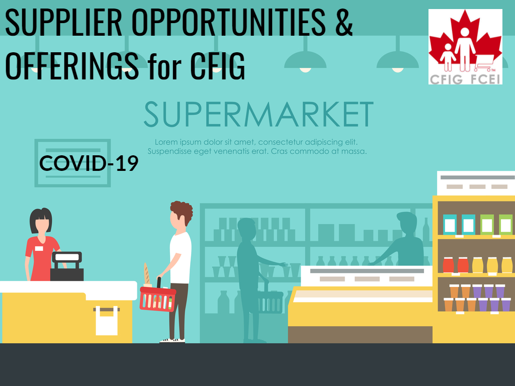 Supplier Offerings for Retailers