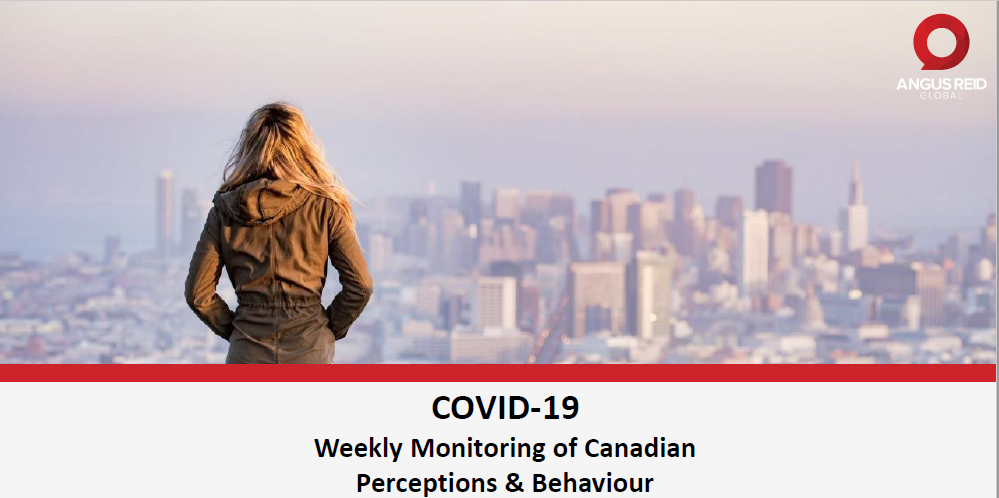 Angus Reid Covid-19 Tracker - Weekly Monitoring of Canadian Perceptions & Behaviour