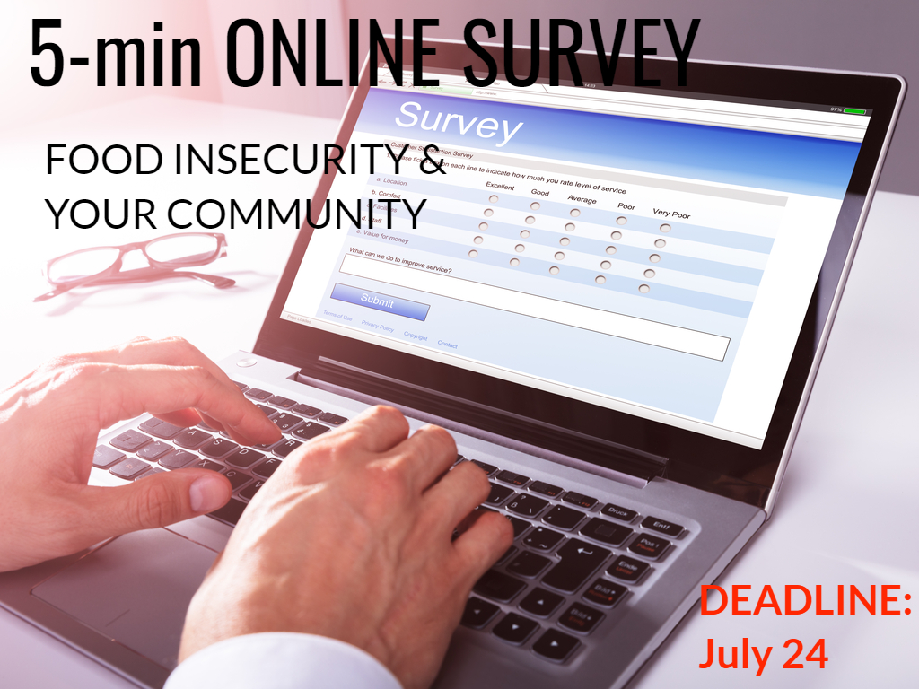 Agriculture and Agri-Food Canada Survey of Independent Grocers: Deadline July 24