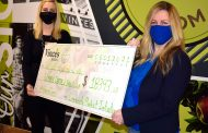 Vince's presents cheque to Women's Centre and announces 2021 recipient