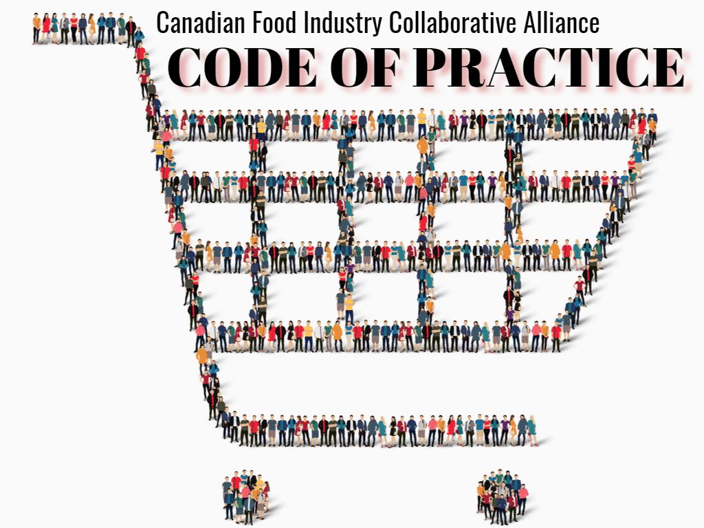 Articles on Announcement of the Alliance and a Canadian Food Industry Code of Practice