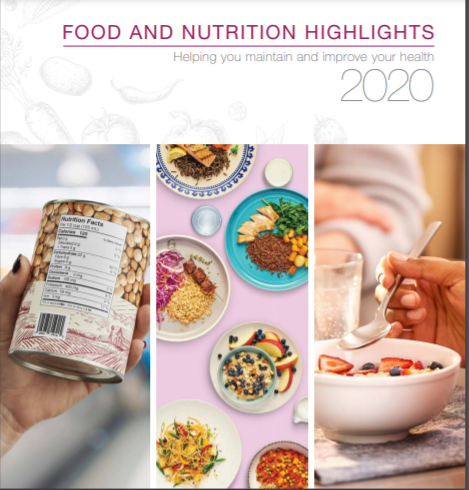 Food and Nutrition Highlights Report